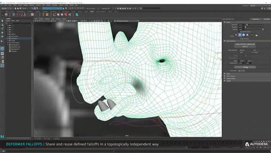 Використання деформера Morph в Autodesk Maya 2022 для прискорення анімації обличчя