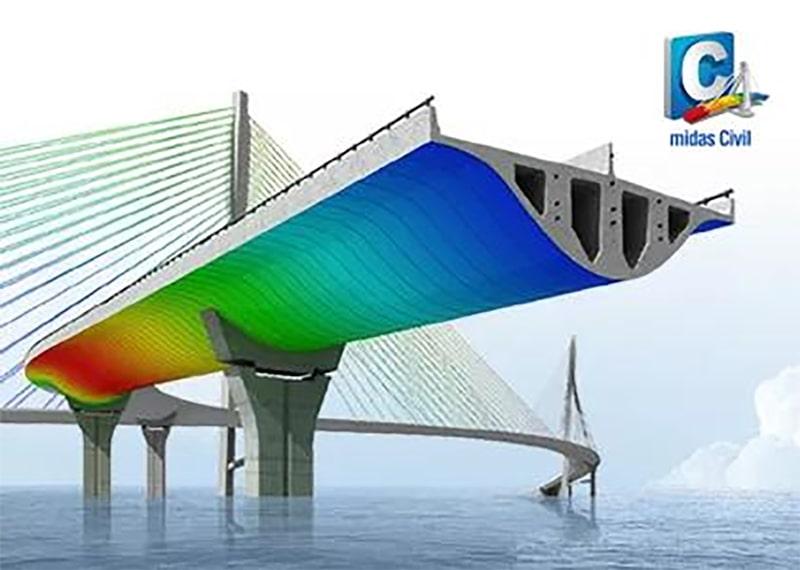 midas Civil для розрахунку мостів