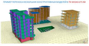 Розрахунок системи «основа-споруда» в midas GTS NX