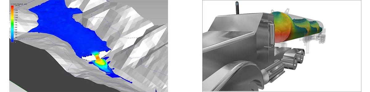 Autodesk CFD. Моделювання вільної течії рідини