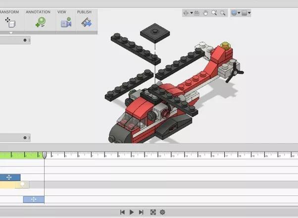 Візуалізація і анімація в Autodesk Fusion 360