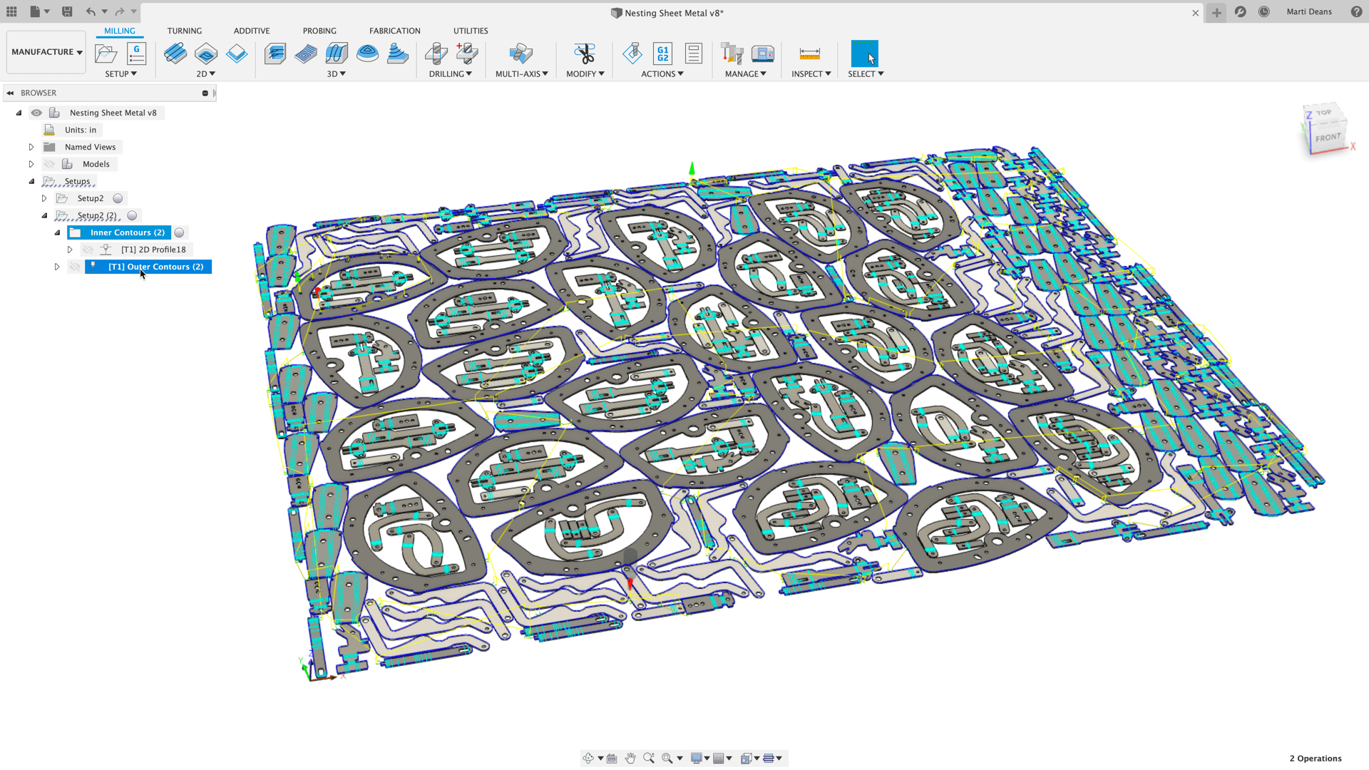 Autodesk Fusion 360 Nesting & Fabrication Extension