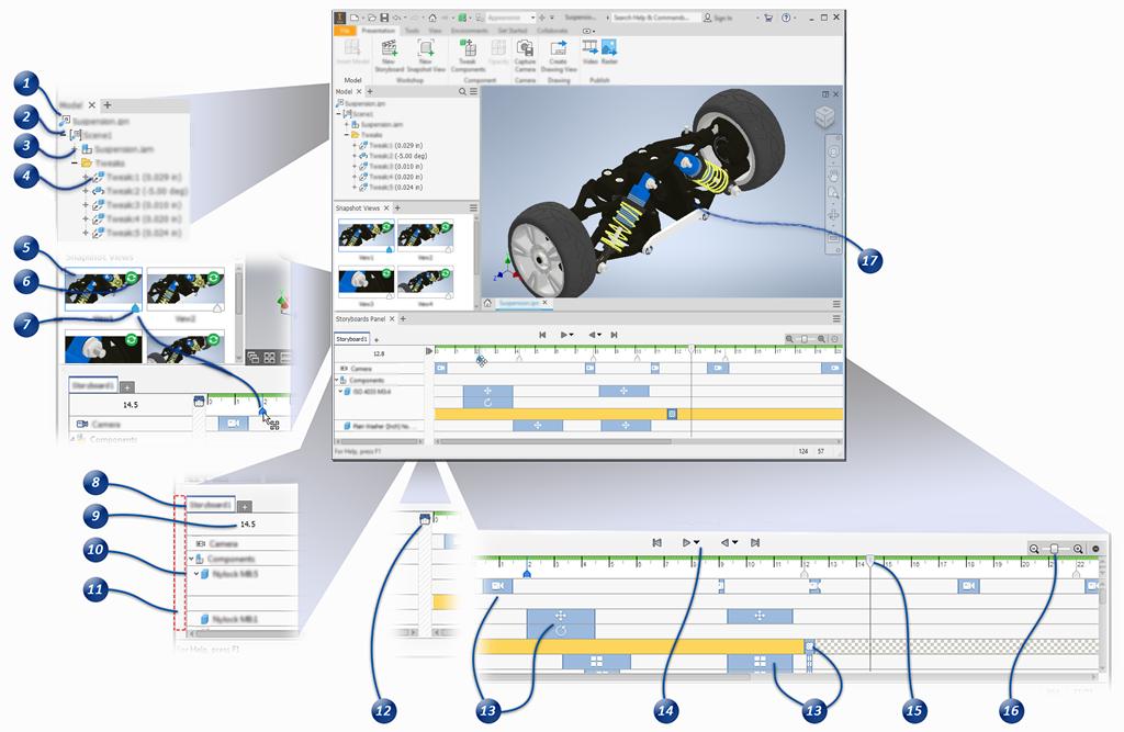 Анімація в Autodesk Inventor
