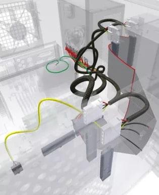 Проектування кабельних з'єднань в Autodesk Inventor