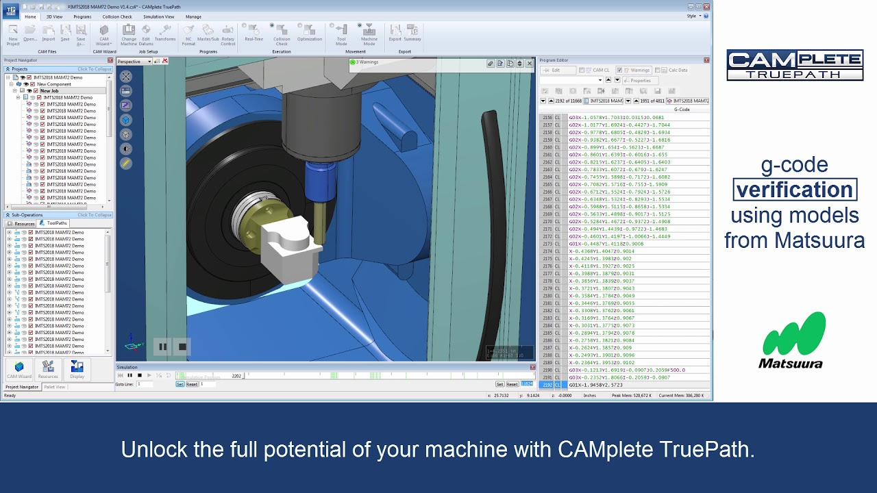 Autodesk CAMplete верифікація керуючих програм